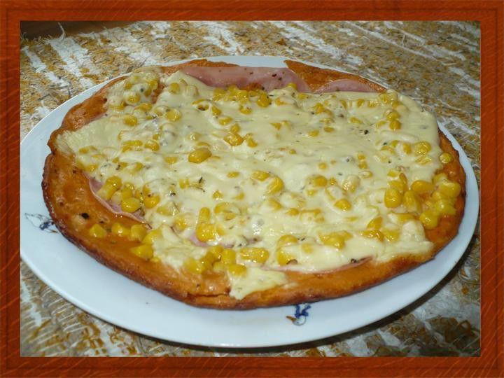 Rychlá a chutná pizza z pánvičky od Moničky.