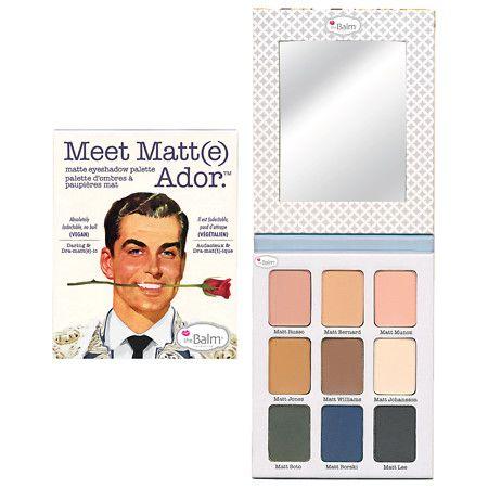 Thebalm Meet Matt(e) Ador Matte Eyeshadow Palette - 0.75 Oz.