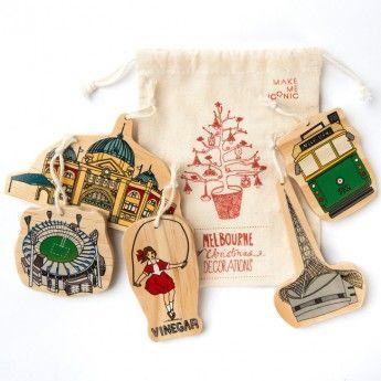 Iconic Melbourne Christmas Decorations