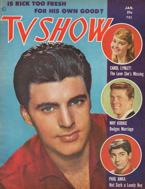 Jan.1960 Rick Nelson