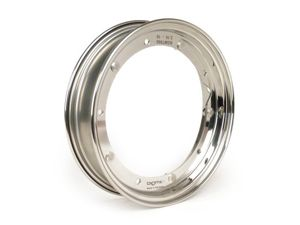 ★★Felge -BGM PRO 2.10-10 Zoll- Vespa (Typ PX) - Edelstahl poliert