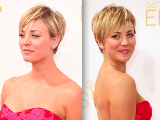 Who says women with round face shapes can't wear their hair short. Find out how to wear the pixie, the bob, the shag and much more.
