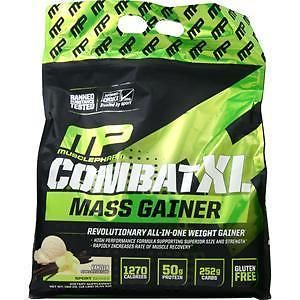 Protein Shakes and Bodybuilding: Muscle Pharm Combat Xl Mass Gainer Vanilla 12 Lbs -> BUY IT NOW ONLY: $44.49 on eBay!