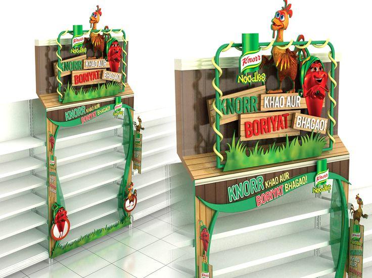 Knorr Shelf Dressup on Behance