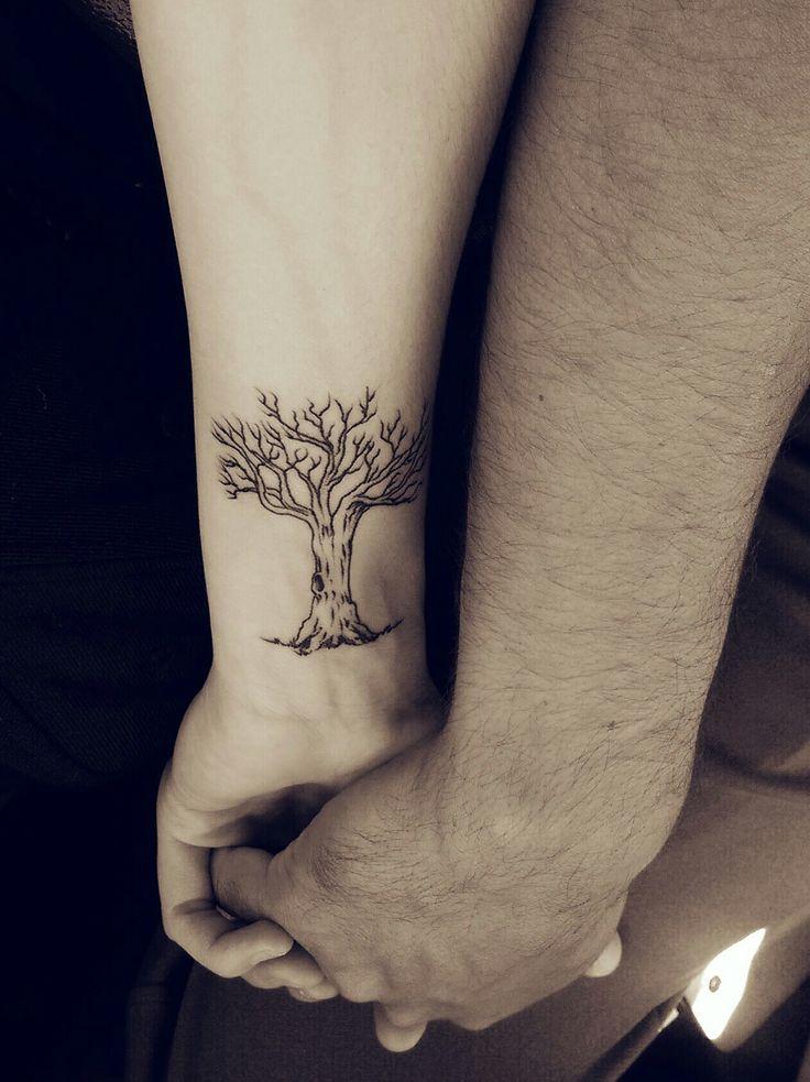 Oak Tree Tattoo...from little acorns great oak trees grow!!