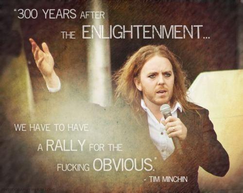 Tim Minchin on the Reason Rally