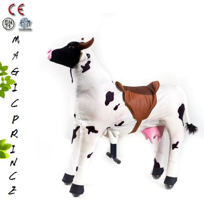 MagicPrincetoys Factory High Quality Mechanical walk horse For Sale, Animal Scooters For Kids White Cow, View High Quality mechanical walk horse, magic prince Product Details from Dalian Magic Prince Toys Co., Ltd. on Alibaba.com
