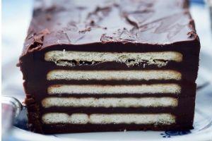Kiksekage med mørk chokolade | Opskrift | Mad & Bolig