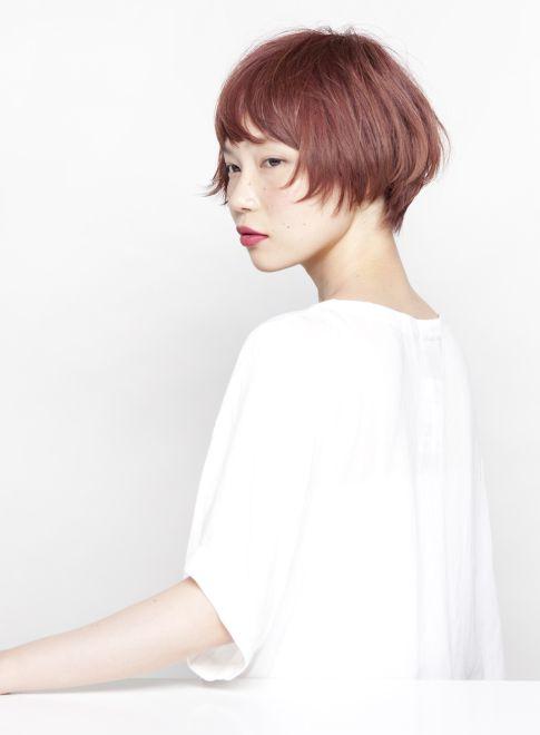 ピンクベージュの大人ショートスタイル 【HEARTS】 http://beautynavi.woman.excite.co.jp/salon/20475?pint ≪ #shorthair #shortstyle #shorthairstyle #hairstyle・ショート・ヘアスタイル・髪形・髪型≫