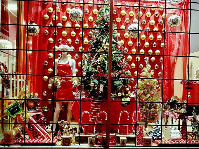 """17 Likes, 1 Comments - Scope Charity Shops (@scopecharityshops) on Instagram: """"If you aren't in the Christmas mood already. This window from our Wakefield shop will help. . . . .…"""""""