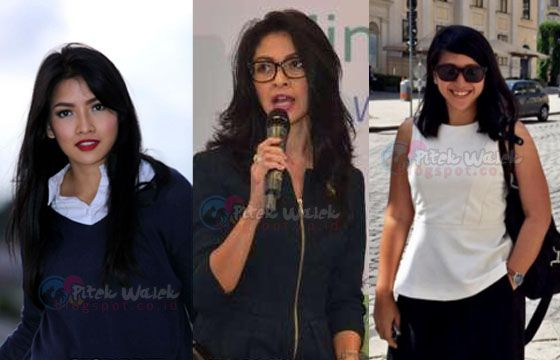Inilah 3 Wanita Cantik di Balik Para Menteri Jokowi