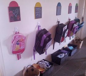 Our organisation station for back to school. More details on the blog :-)