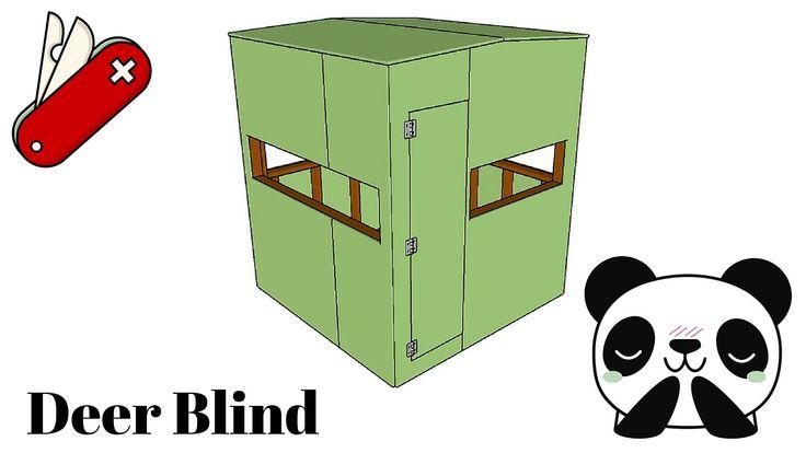 25 best ideas about deer blind plans on pinterest deer for Octagon deer blind plans