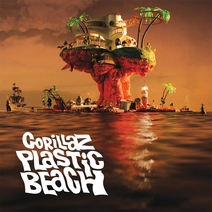 Gorillaz - Plastic Beach - album covers