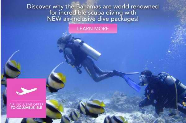 All Inclusive With Air - Columbus Isle - Bahamas - http://www.diveguide.com/forums/showthread.php?20763-All-Inclusive-With-Air-Columbus-Isle-Bahamas