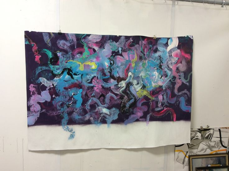 Photo quality is crap need to view in person ironlak acrylic paint , vortex