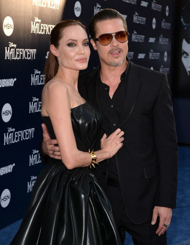 Brad Pitt and Angelina Jolie secretly married in France on Saturday Aug 23, 2014.  Very happy for them.