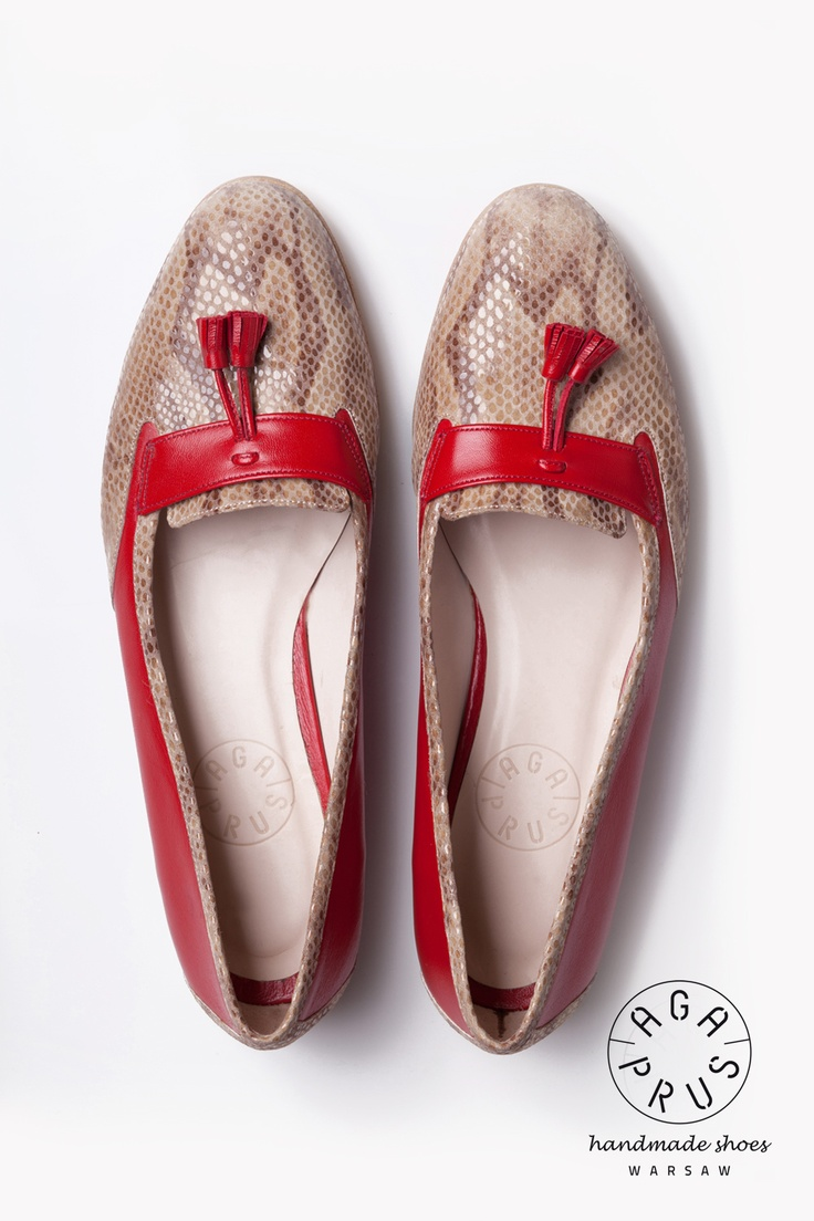 Loafers by Aga Prus. Handmade