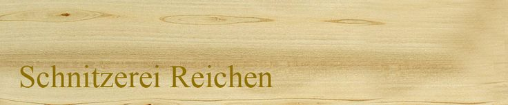 Webbanner für die Schnitzerei-Reichen aus Blausee im berner Oberland