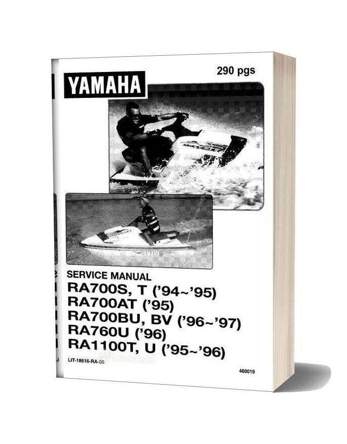 Yamaha Service Manual Waveraider 94 To 97 In 2020 Yamaha Manual Lettering