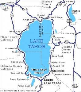 Best Lake Tahoe Map Ideas On Pinterest Lake Tahoe Lake - Lake tahoe us map