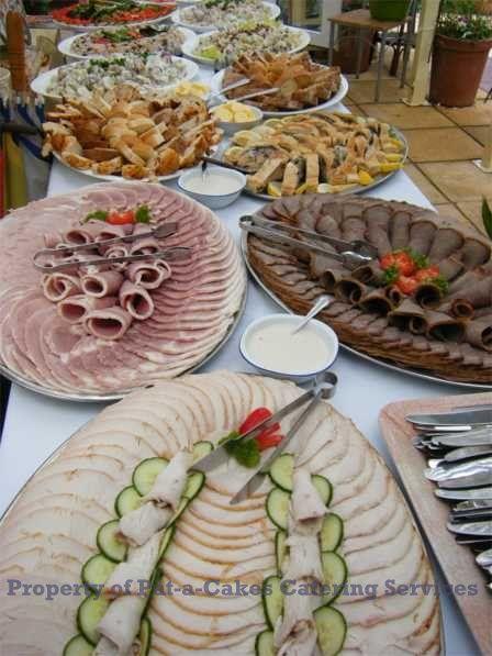 wedding menu buffet ideas | Pat-a-Cakes - Events