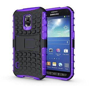 BEST Galaxy S5 Active Case, Cocomii® [HEAVY DUTY] Galaxy S5 Active Grenade Case **NEW** [Ultra Titan Armor] Premium Built-in Kickstand Bumper Case - Full-body Rugged Hybrid Protective Cover Bumper Case for Samsung Galaxy S5 Active • Unique, rugged design with style and the utmost protection • Raised edge around the front lip for face-down protection • Extreme Protection from drops and scratches • Unique, slide-out kickstand for ease of video viewing • 5% Off Coupon Code 6BXA7NOZ This Week…