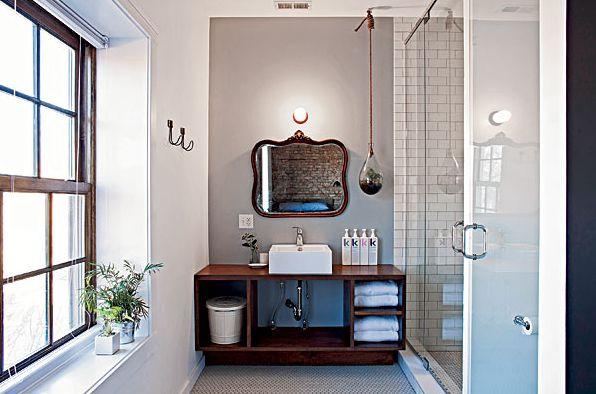 Welke Badkamer Speakers ~ Indeling kleine badkamer, glazen deur voor toilet, tegels vloer en