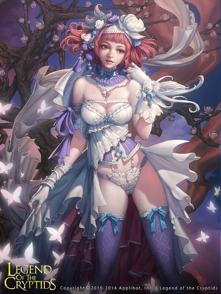 Heavenly Bride Nathalia  - Legend of the Cryptids