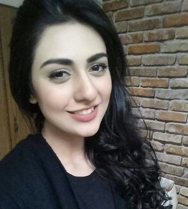 Sarah Khan In Black