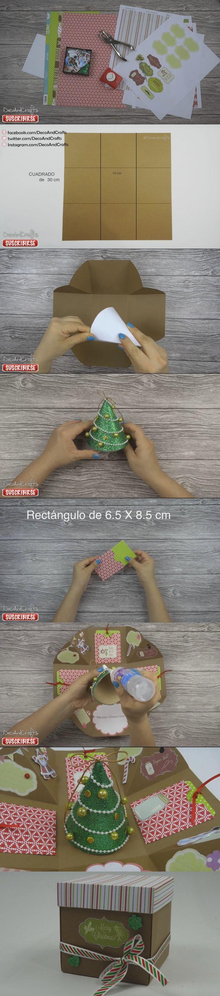 Caja DIY de navidad