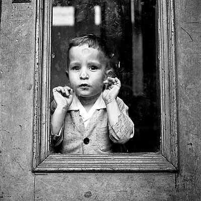 Photo by Vivian Maier, whose 100,000 perfectly composed street photographs were found abandoned in a storage locker.
