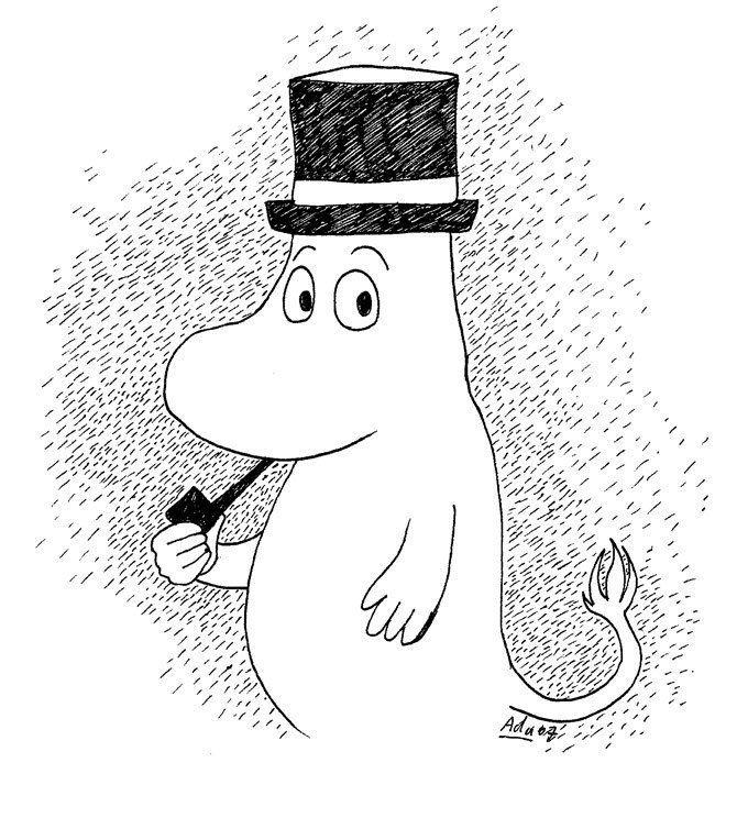 Мумий тролль и шляпа картинки
