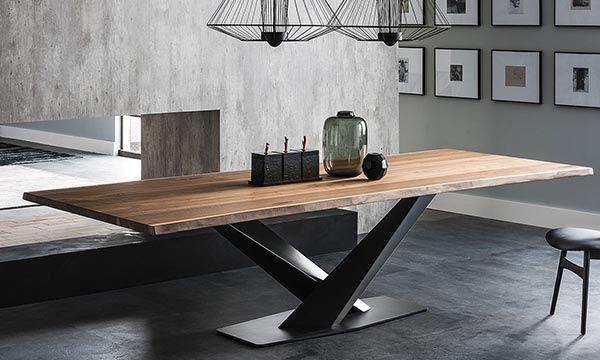 Cattelan Stratos Ceramic Dining Table Fixed In 2020 Ceramic