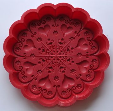 lovely cookie mold - perfect for Valentine's Day