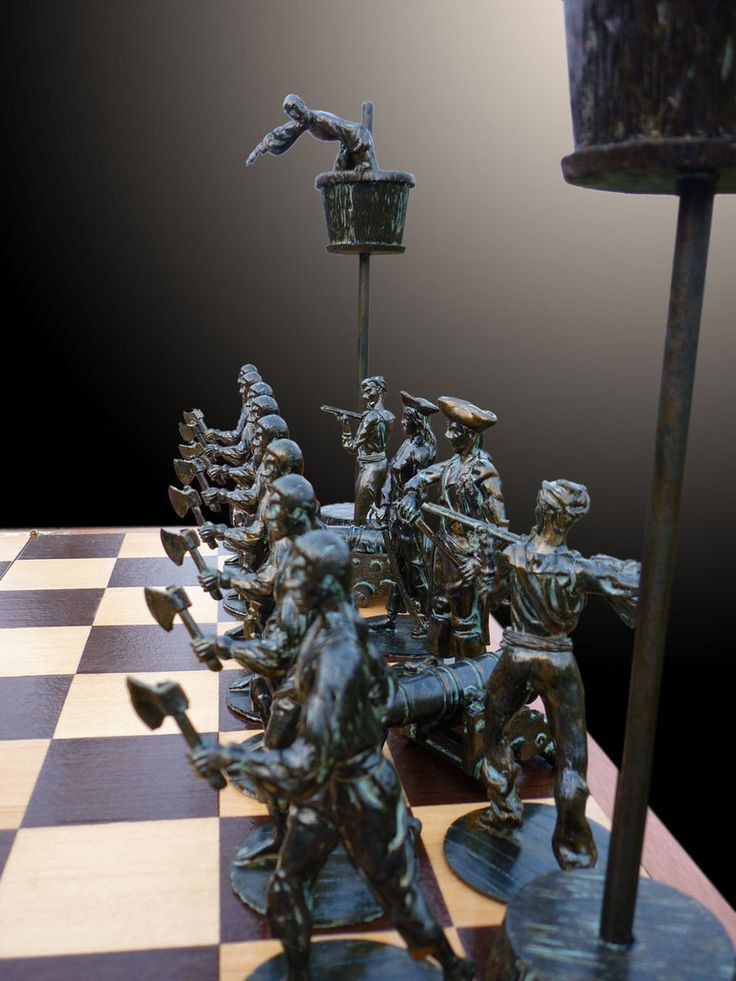 Pirate Chess Set III by barbaragreco