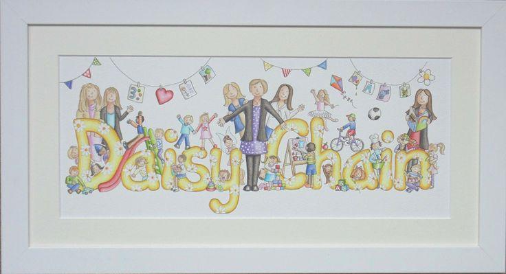 Daisy Chain Nursery painting
