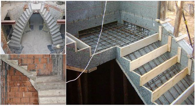 Formwork Reinforcement Stairs Concrete Stairs Concrete Staircase Stairs Design Interior