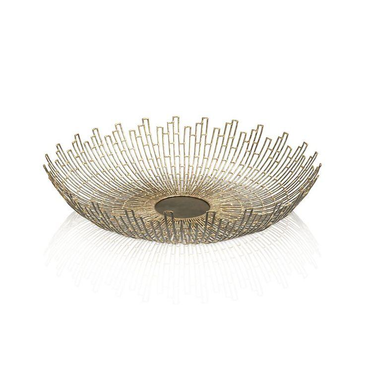 Gold Starburst Centerpiece : Best bowl centerpieces ideas on pinterest fish