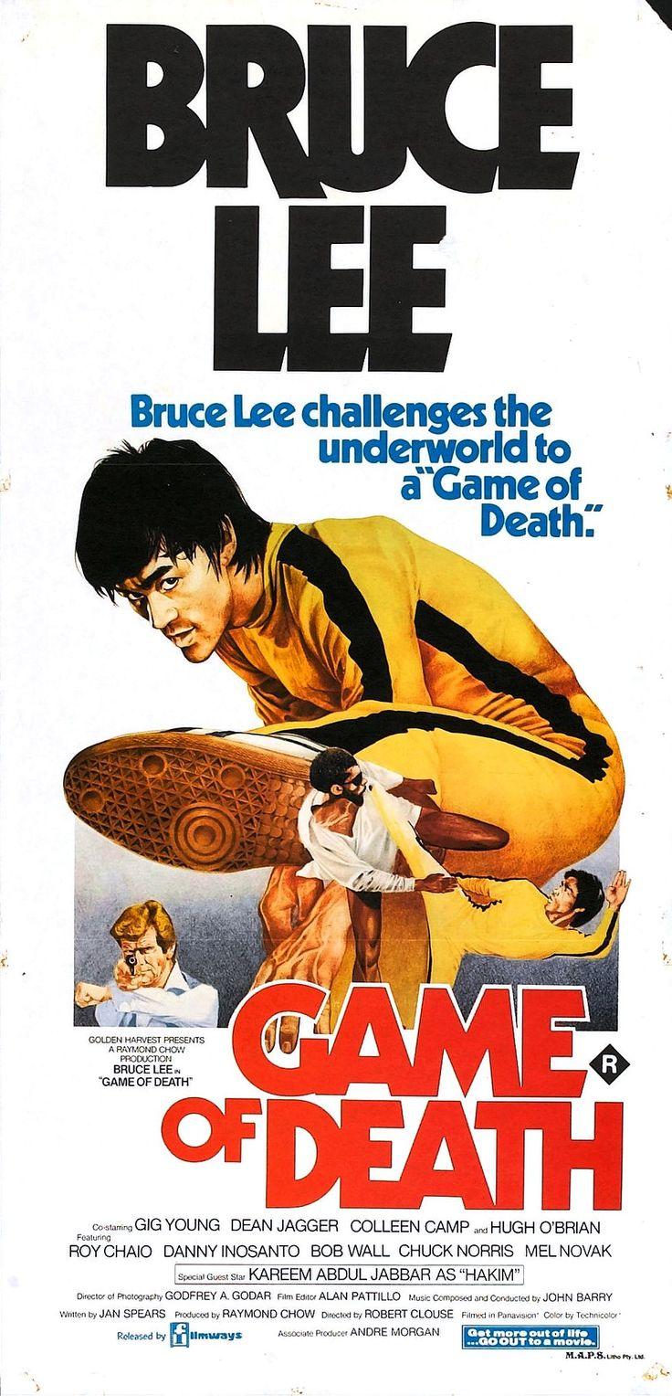 Game of Death (1978) #brucelee #exploitation #poster