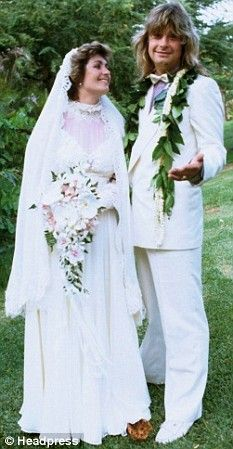 "Ozzy and Sharon were married in Maui, Hawaii, on July 4, 1982. YOU GOTTA LUV THEM!!!! ""SHAAARROOOON!!!"""