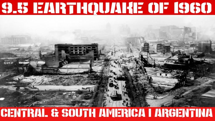 Earthquake Report | May 22, 2016 | Great 9.5 Earthquake of 1960 | Eurasi...