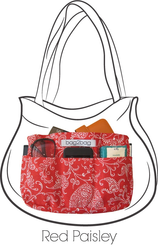 bag2bag Handbag Organiser - A fashionable way to transfer your essentials.