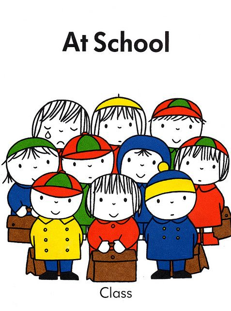 at school, dick bruna