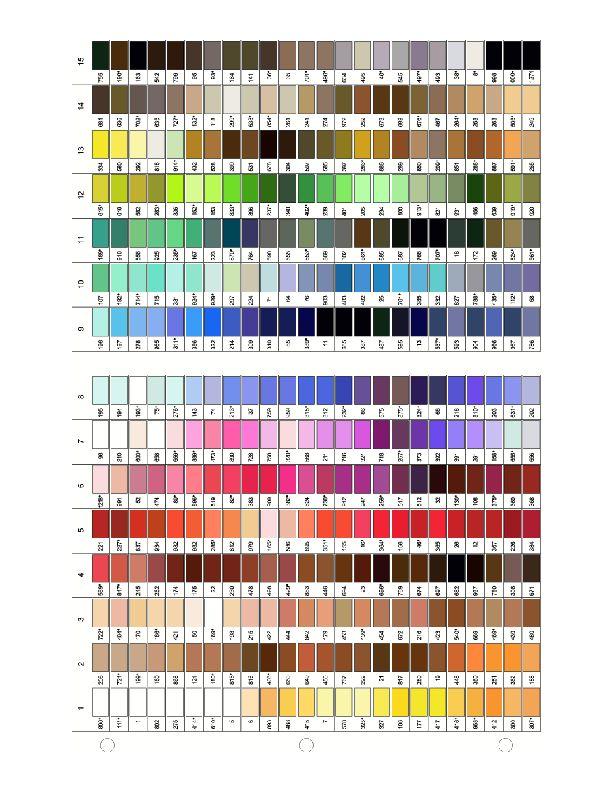 gutermann thread color chart pdf hubba hubba - Aurifil Thread Color Chart