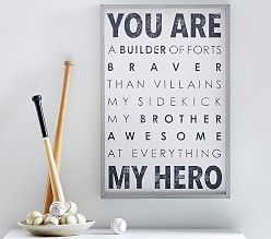 Ode to a brother - PotteryBarn Kids