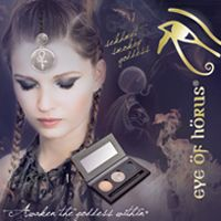 MONDAY 20th March  EYE OF HORUS MAKE-UP 20-MINUTE MAKEOVERS BY OUR MAKE-UP ARTIST – 10am-1pm
