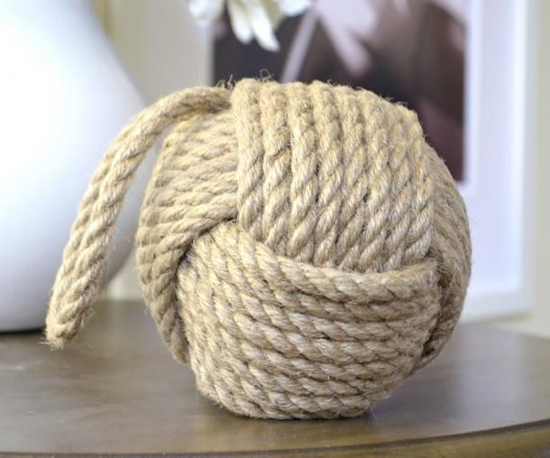 Homewares & Home Decor Online-Rope Knot - Monkey Fist Knot Decor-Home & Living