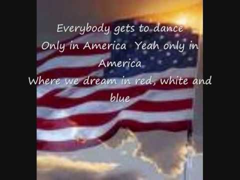 Only in America by Brooks and Dunn, via YouTube.