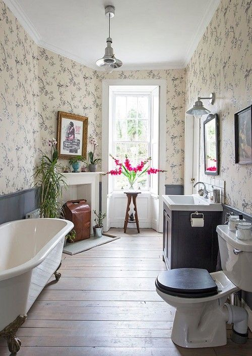 how to create a vintage inspired bathroom vintage decor and homes rh pinterest com